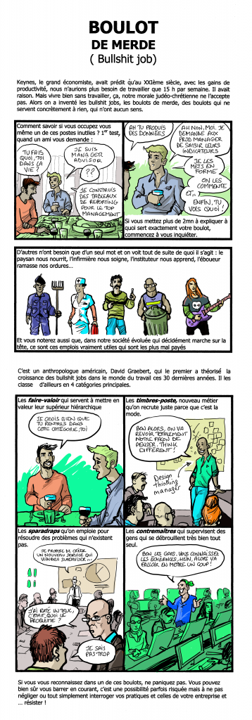 BOULOT DE MERDE Short édition